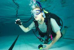 Happy Divers Zkušební ponor v bazénu