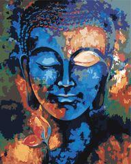 Kouzelný Art Malování podle čísel Barevný Buddha