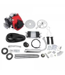 Sunway Motorový kit na motokolo 49cc 4-takt (přídavný motor na kolo čtyřtaktní)
