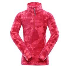 ALPINE PRO pulover za djevojčice Augedo, 92 - 98, ružičasti