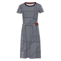 ALPINE PRO dekliška obleka Trango, 152 - 158, temno modra
