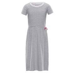 ALPINE PRO Trango lány ruha, 104-110, szürke