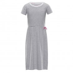 ALPINE PRO dekliška obleka 152 - 158, siva
