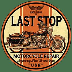 BrinX.cz LAST STOP - nová motorkářská trička