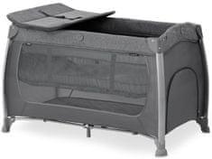 Hauck potovalna posteljica Play N Relax Center 2021 melange charcoal