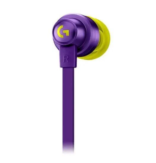 Logitech G333 slušalke, vijolične