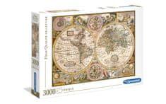 Clementoni sestavljanka Old Map, 3000 kosov (33531)