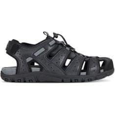 Geox Moški sandali Uomo Sandal Strada U6224B-0MEBC-C9999 (Velikost 44)
