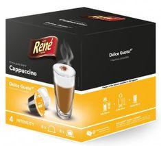 René Cappuccino kapsuly pre kávovary Dolce Gusto 16 ks