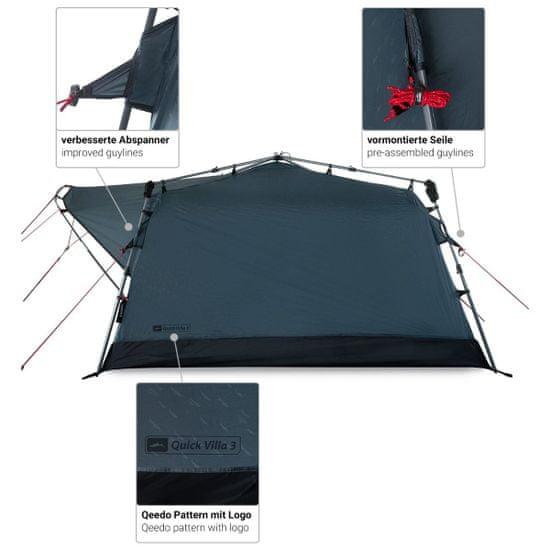 Qeedo šotor Quick Villa 3, siv