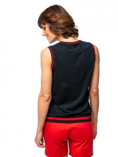 Heavy Tools Ženska majica s kratkimi rokavi Boroka mornarsko C5S21371NA