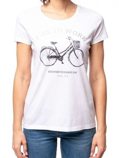 Heavy Tools T-shirt damski Marion biały C4S21367WH
