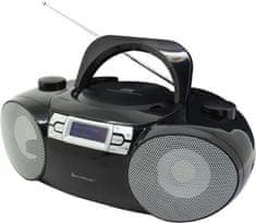 Soundmaster radio z napędem CD SCD8100SW, DAB+/FM i BT czarne