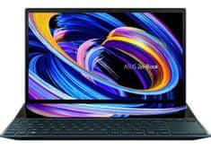 Asus ZenBook DUO 14 UX482EA-EVO-WB513T prenosnik, temno moder