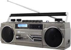 Soundmaster SRR70TI, przenośny odtwarzacz muzyczny, srebrny