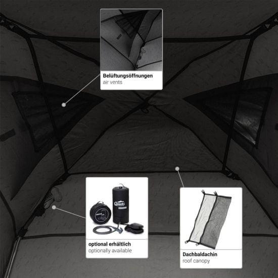 Qeedo šotor Quick Shower Cabin, siv