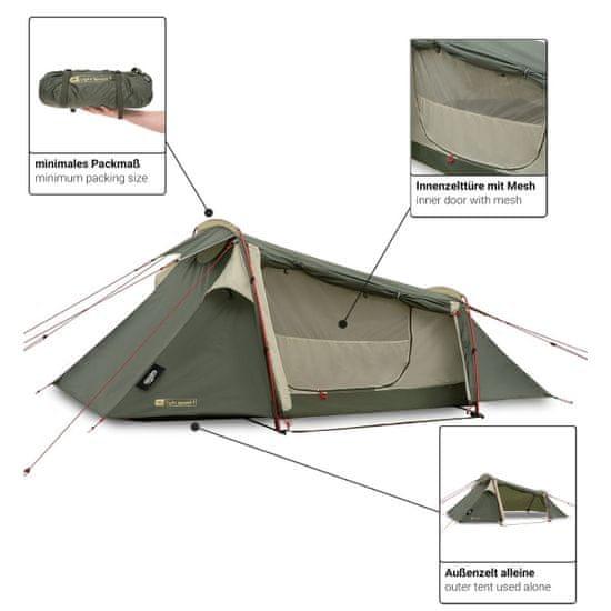 Qeedo treking šotor Light Spruce 1