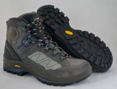 Grisport Polvisoki treking čevlji 12835 sivi/modri/rjavi, 38
