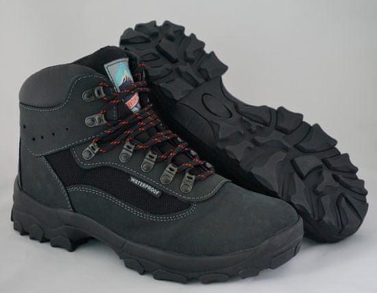 Grisport polvisoki treking čevlji Tiesse Eagle črni/sivi unisex