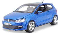 BBurago Model 1:24 Plus VW Polo GTI Mark 5 Blue