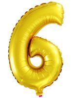 Balón 6 zlatý