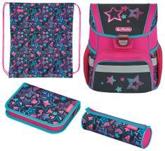 Herlitz Školní taška Loop Plus Hvězda - vybavená