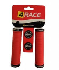 4Race gripy 2x Lock 130mm červené