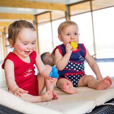 KONFIDENCE Neoprenska obleka za dojenčke, modra, za 1 - 2 leti