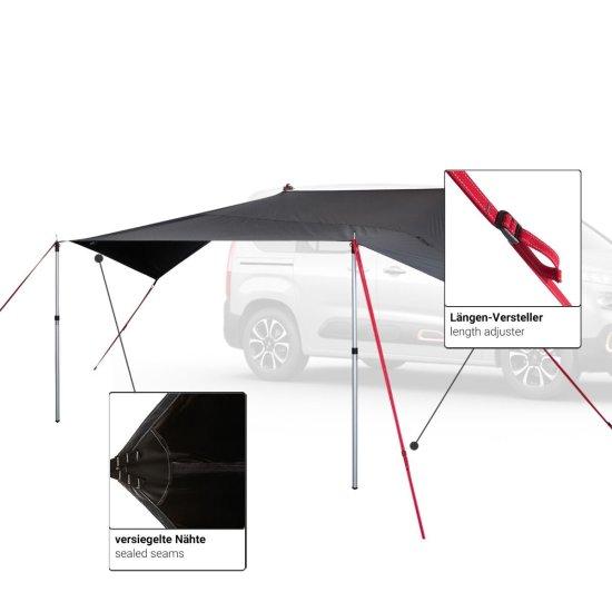 Qeedo tenda Motor Tarp Van
