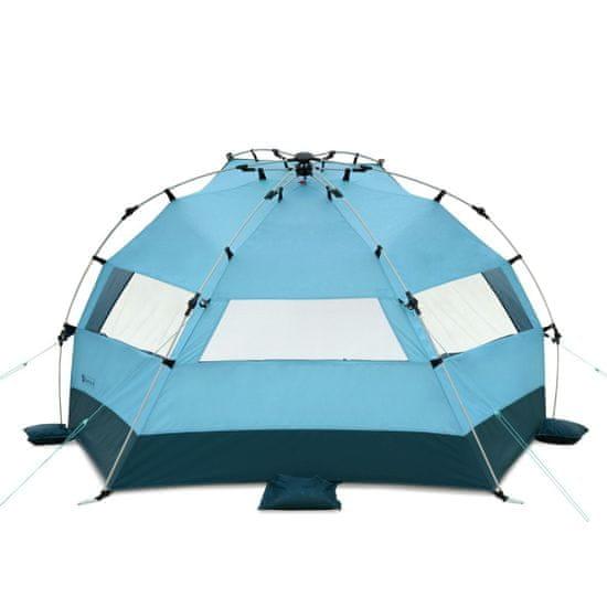 Qeedo senčnik za na plažo Quick Bay XL, svetlo moder