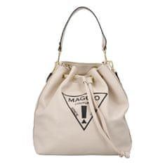 Maggio Koženkový kabelko-vak do ruky Maggio Marci, béžový