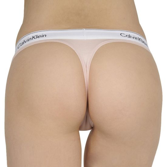 Calvin Klein Dámská tanga růžové (F3786E-2NT)