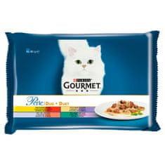 Purina Gourmet Perle Lahodné Duo 4 x 85g