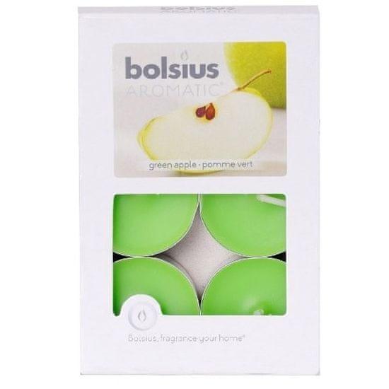 Bolsius Svíčka čajová 6ks Green Apple