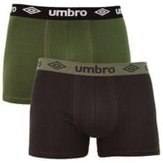 Umbro 2PACK pánské boxerky vícebarevné (UMUM0304 A) - velikost XXL