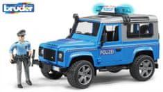 Bruder 2597 Land Rover policijski automobil s figuricom