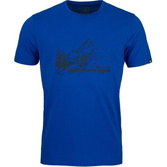 Northfinder Pánske tričko Shane Regular Fit TR-3539OR 281 Blue