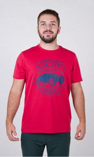 Northfinder Pánske tričko Tris tin Regular Fit TR-3544SP 360 Red
