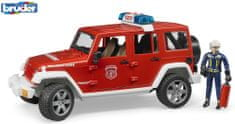 Bruder 2528 Jeep Wrangler gasilsko vozilo z gasilcem