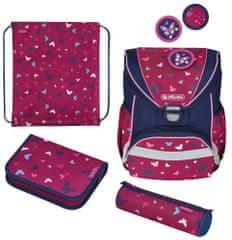 Herlitz Školní taška UltraLight Motýl - vybavená