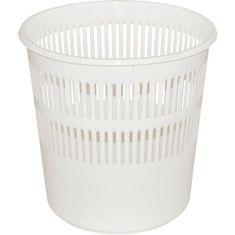 Gastrozone Kôš na papier 11,5 l, biely
