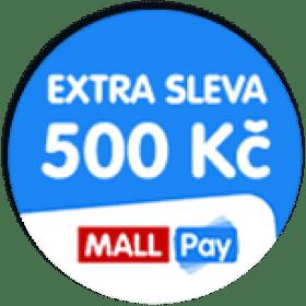 Extra sleva 500 Kč, Mall Pay