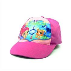 """EUROSWAN Lány baseball sapka """"Shimmer és Shine"""" - rózsaszín - 54 cm"""