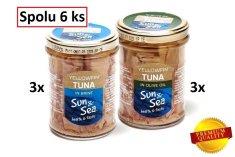 Sun&Sea Tuniak žltoplutvý v skle balíček