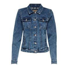 ONLY Női dzseki Tia Dnm Jacket Bb Mb Bex02 Medium Blue Denim (méret 34)