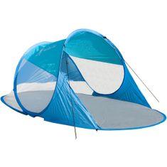 Samopostavljivi šotor za na plažo PARAWAN, mint-moder T-249