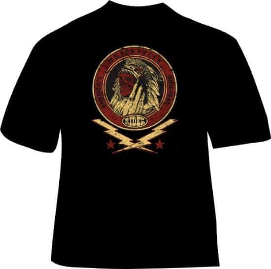 BrinX.cz INDIANS SKULL - Motorkářské tričko