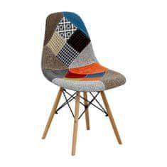 IDEA nábytek Jídelní židle UNO patchwork barevná
