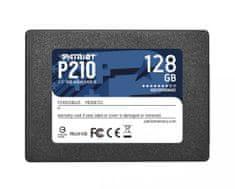Patriot P210 SSD disk, 128 GB, SATA 3
