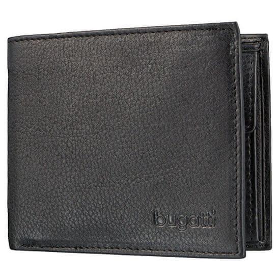 BUGATTI Férfi pénztárca Semper 49117901 Black